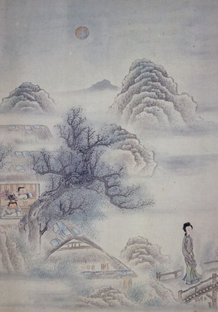 Chinese illustration from the Chester Beatty Library, Dublin