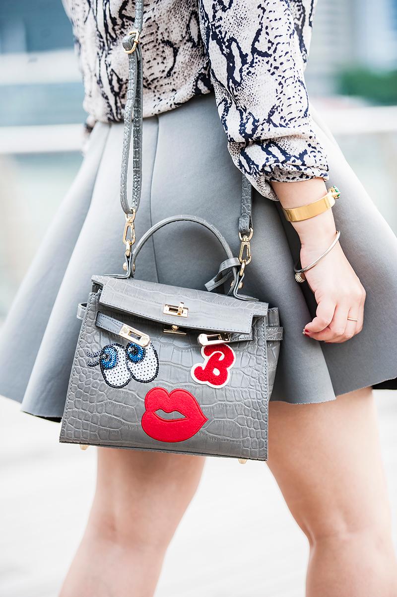 Crystal Phuong- playnomore wink handbag