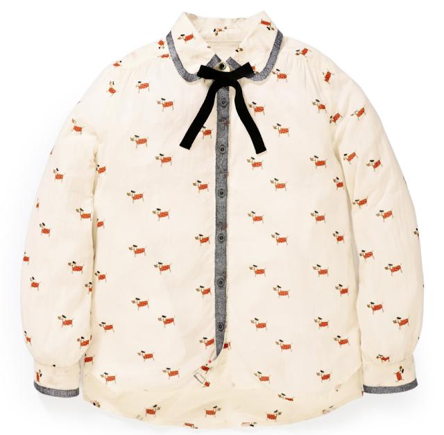 mamasVIb | V. I. BABY: OH LA LA! Little Parisian Chic at Next, Next | Dog print blouse | VI BABY | mama's VIB | baby fashion| blog|kids style | Fashion editor style