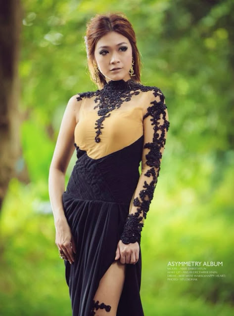 Nwe Darli Tun - Myanmar Model Girls