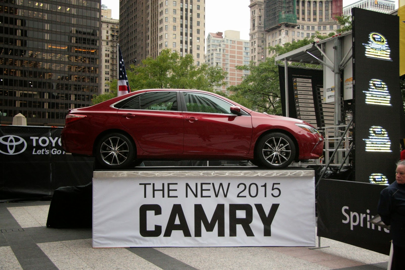 2015s Camry Model. Toyota, Let's Go Places