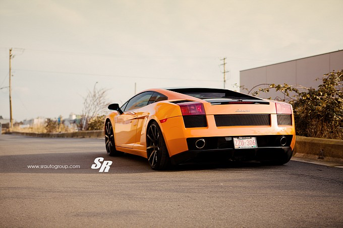 Lamborghini Gallardo on PUR Wheels