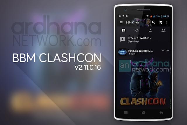 BBM Clashcon - BBM Android V2.11.0.16