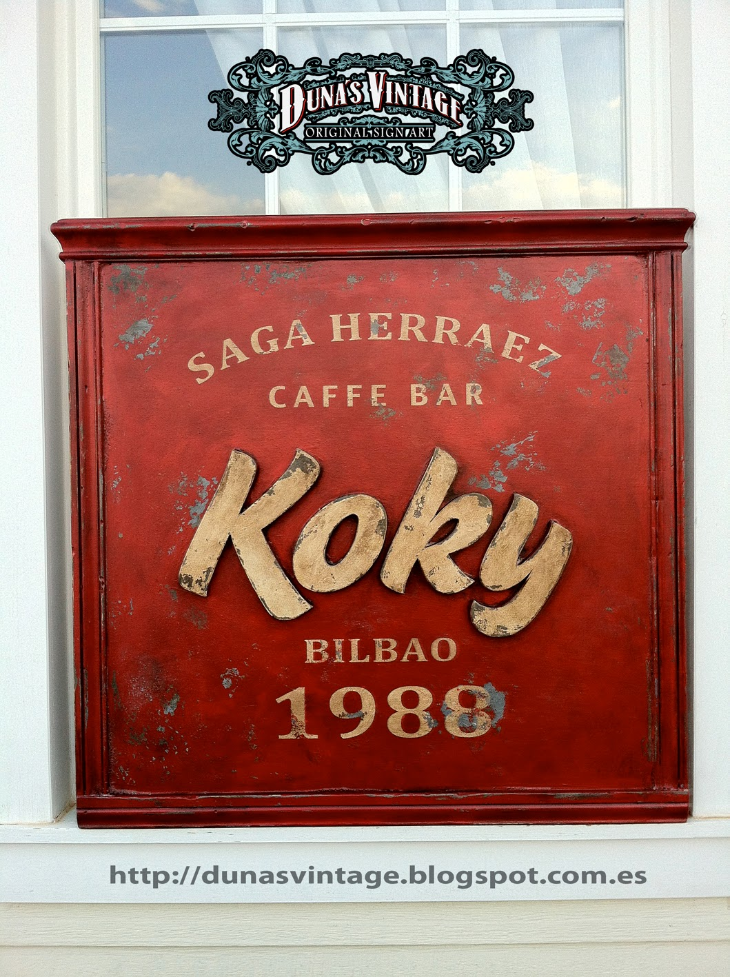Duna s vintage koky caffe bar bilbao duna s vintage - Carteles retro ...