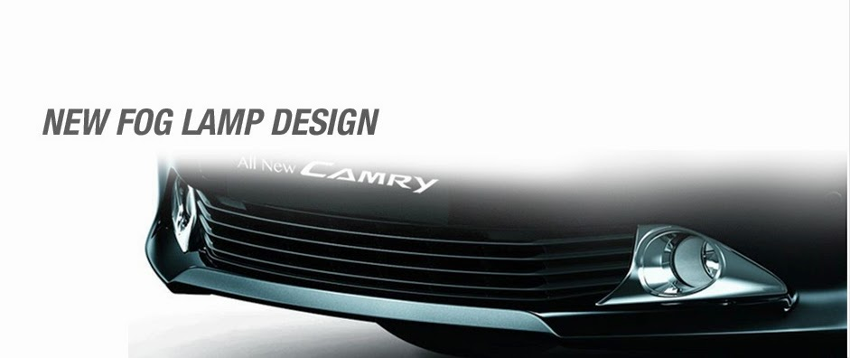 desain eksterior camry mobil hybrid