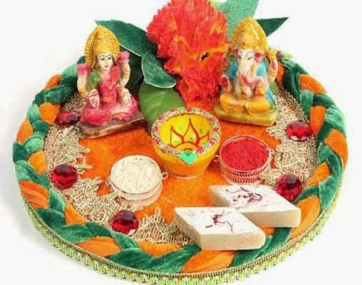 Diwali Puja Thali Decoration: Diwali Pooja Thali Ideas & Wallpapers