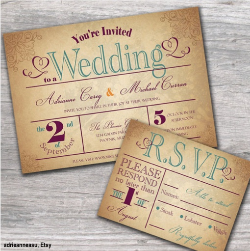 Watch more like Country Wedding Invitations Ideas