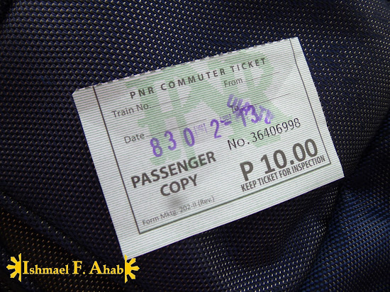 PNR Commuter Ticket
