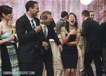 Behind the scenes: Sandra Oh, Kevin McKidd, Chyler Leigh, Jesse Williams