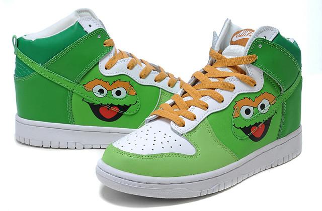 Oscar The Grouch Shoes Nike