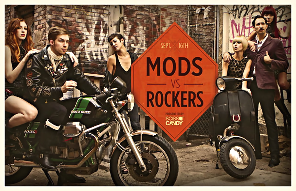 Mods Vs Rockers Philly Inazuma Caf 233 Racer