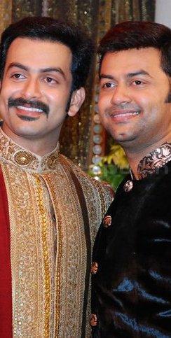 Indrajith and Prithviraj Sukumarana