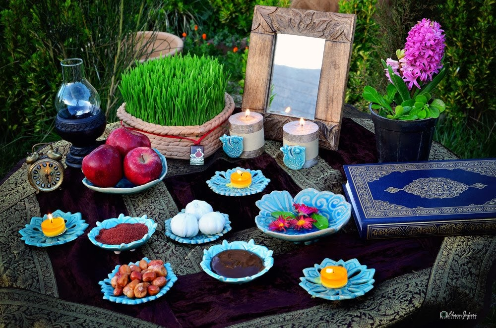 Norouz, Persian new year | Imagine your world Persian Haft Seen