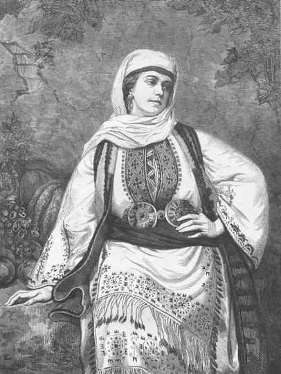 Greek woman of Elefsina