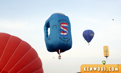 putrajaya hot air balloon coin box
