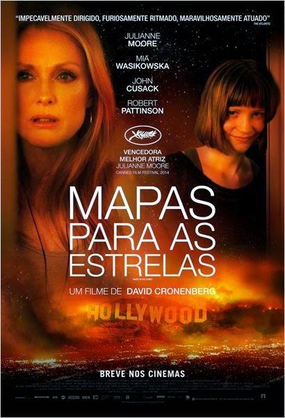 """Poster do filme """"Mapa para as estrelas"""""""