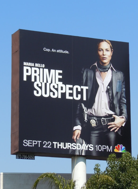 Prime Suspect USA TV billboard