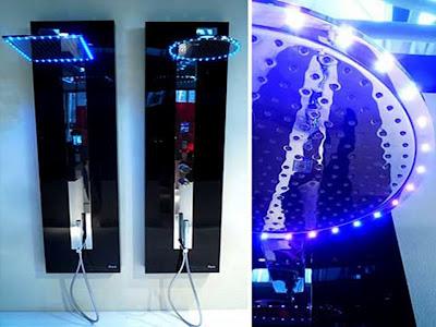 decoração Chuveiro de LED