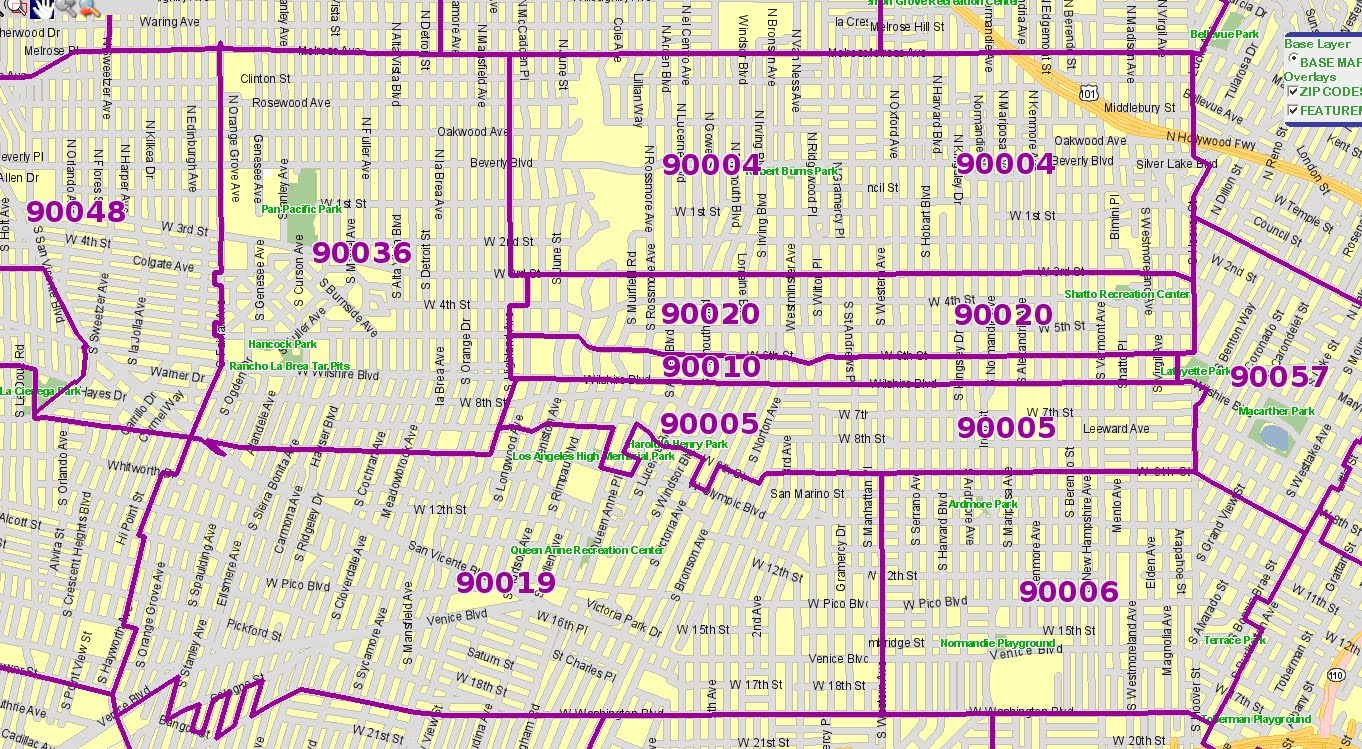 Chicago Title The Anna Ma Team Koreatown Zip Code Map