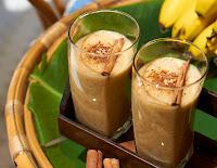 Vitamina de Banana com Canela (vegana)