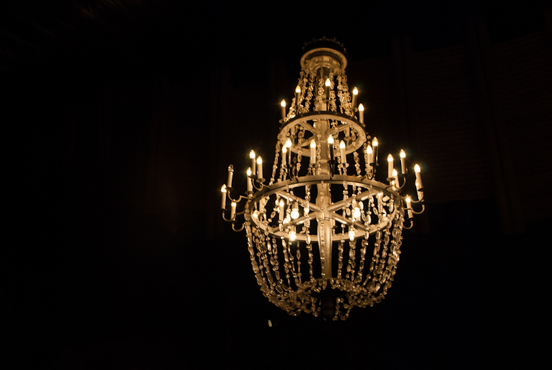 Wieliczka Salt Mine in Poland salt crystal chandelier