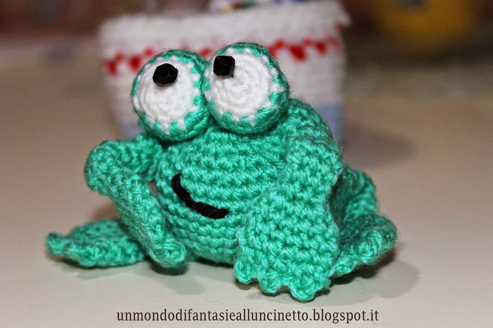 Un Mondo di Fantasie allUncinetto di Lisa : La mia rana ...