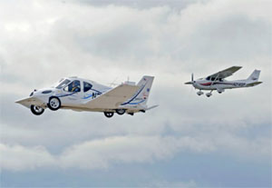 El auto volador estará a la venta este año