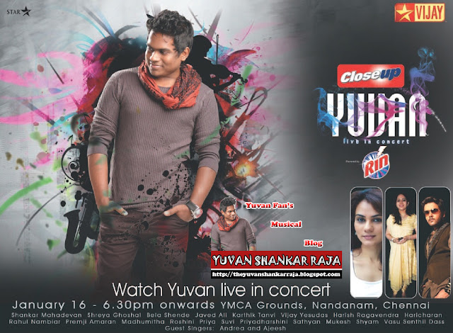 Yuvan Shankar Raja Concert Wallpapers
