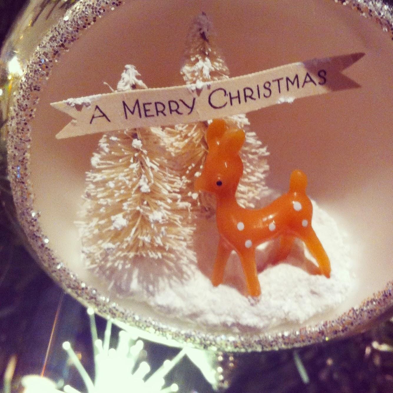 Fine The Pretty Purveyor Diy Vintage Christmas Ornament Easy Diy Christmas Decorations Tissureus
