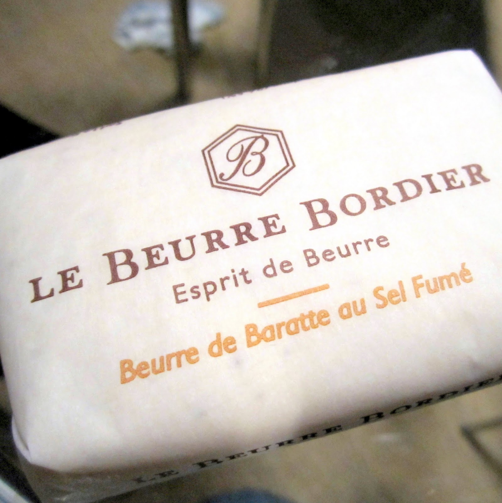 French Butter Bordier Smoked Sea Salt