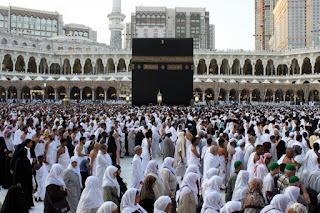 Makkah mulai dipadati jamaah haji dari berbagai negara