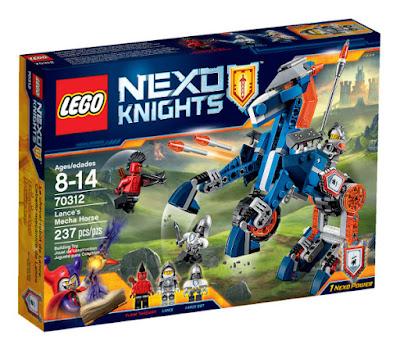 TOYS : JUGUETES - LEGO Nexo Knights  70312 Caballo Mecanico de Lance | Lance's Mecha Horse  Producto Oficial 2015 - 2016 | Piezas: 237 | Edad: 8-14 años  Comprar en Amazon España & buy Amazon USA