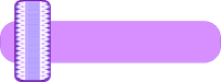 Faixa lilás roxo - Criação Blog PNG-Free