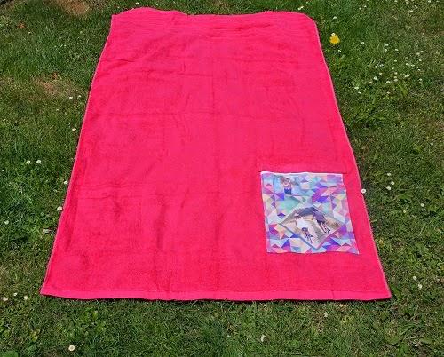Imagen de una toalla personalizada de Foto Ikatz El Boulevard de Vitoria Gasteiz