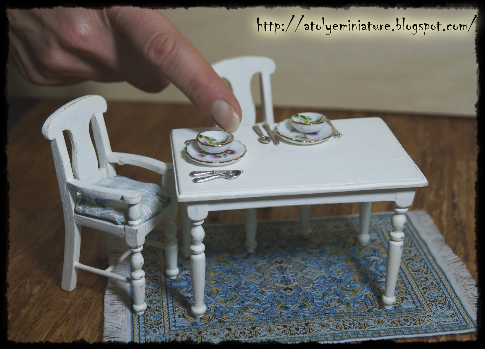 miniature table chair