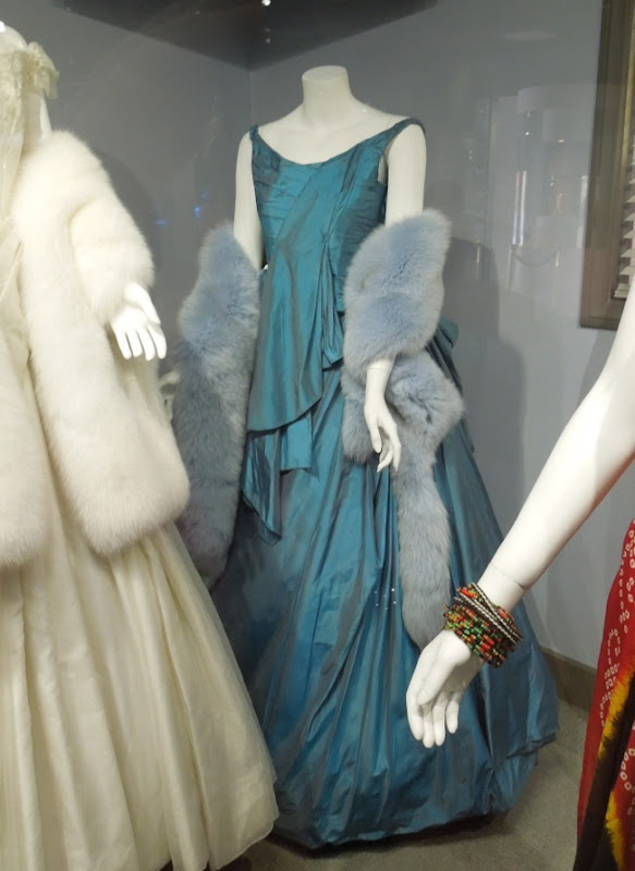 Princess Betsy turquoise opera gown Anna Karenina