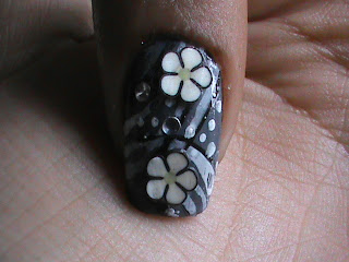 Easy nail designs with FIMO flower nail art- Fimo Canes nail art design Tutorial Video for beginners DIY Tips
