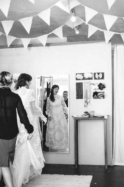 East side bride a visit to echo park 39 s bride boutique for Laura ingalls wilder wedding dress