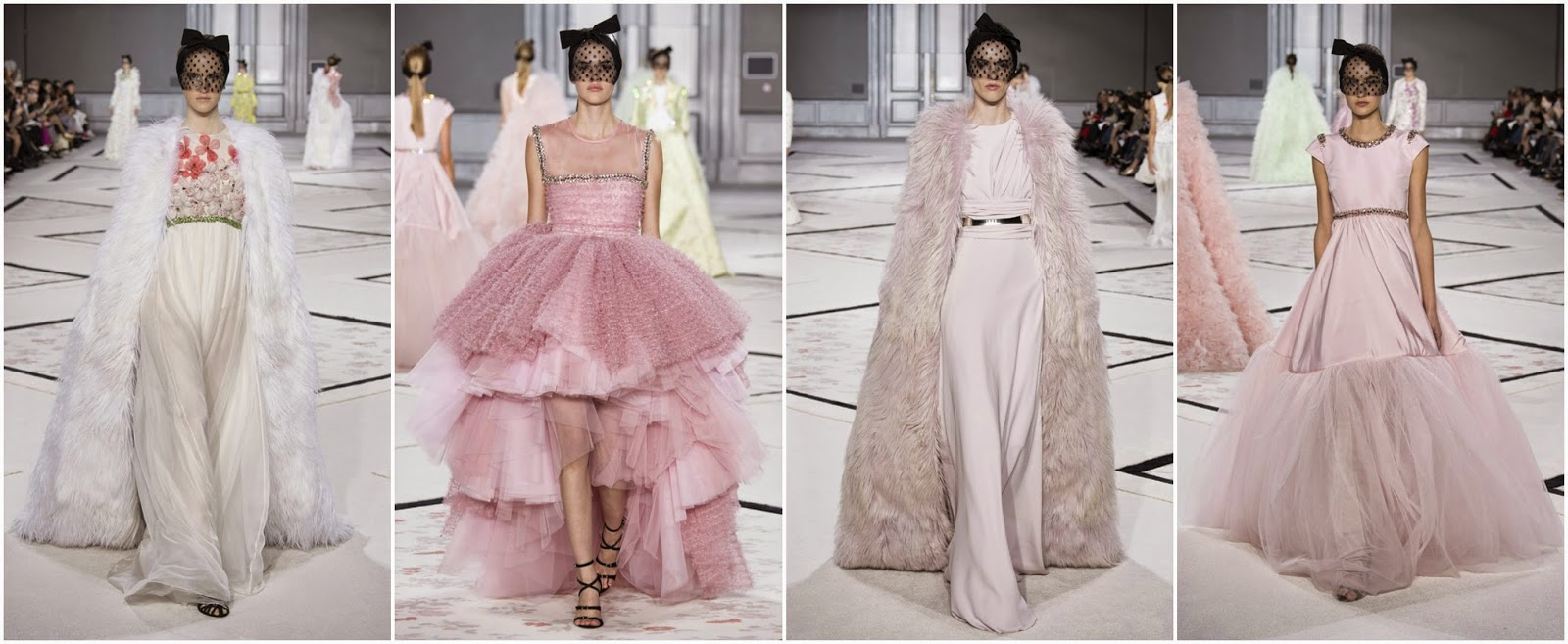 Giambattista Vali SS15 Couture show, fashion, catwalk, SS15, haute couture, fashion week, designer, vogue