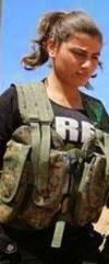 زنان جنگجوی کوبانی