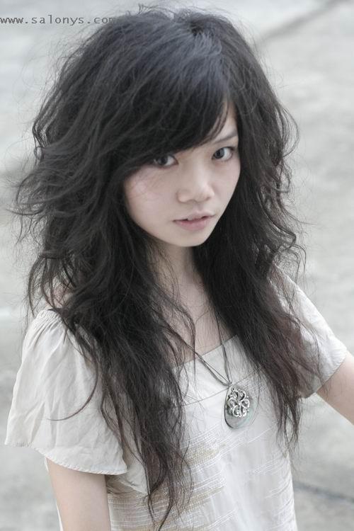 hairstyle asian girl Cute quiff hair pieces