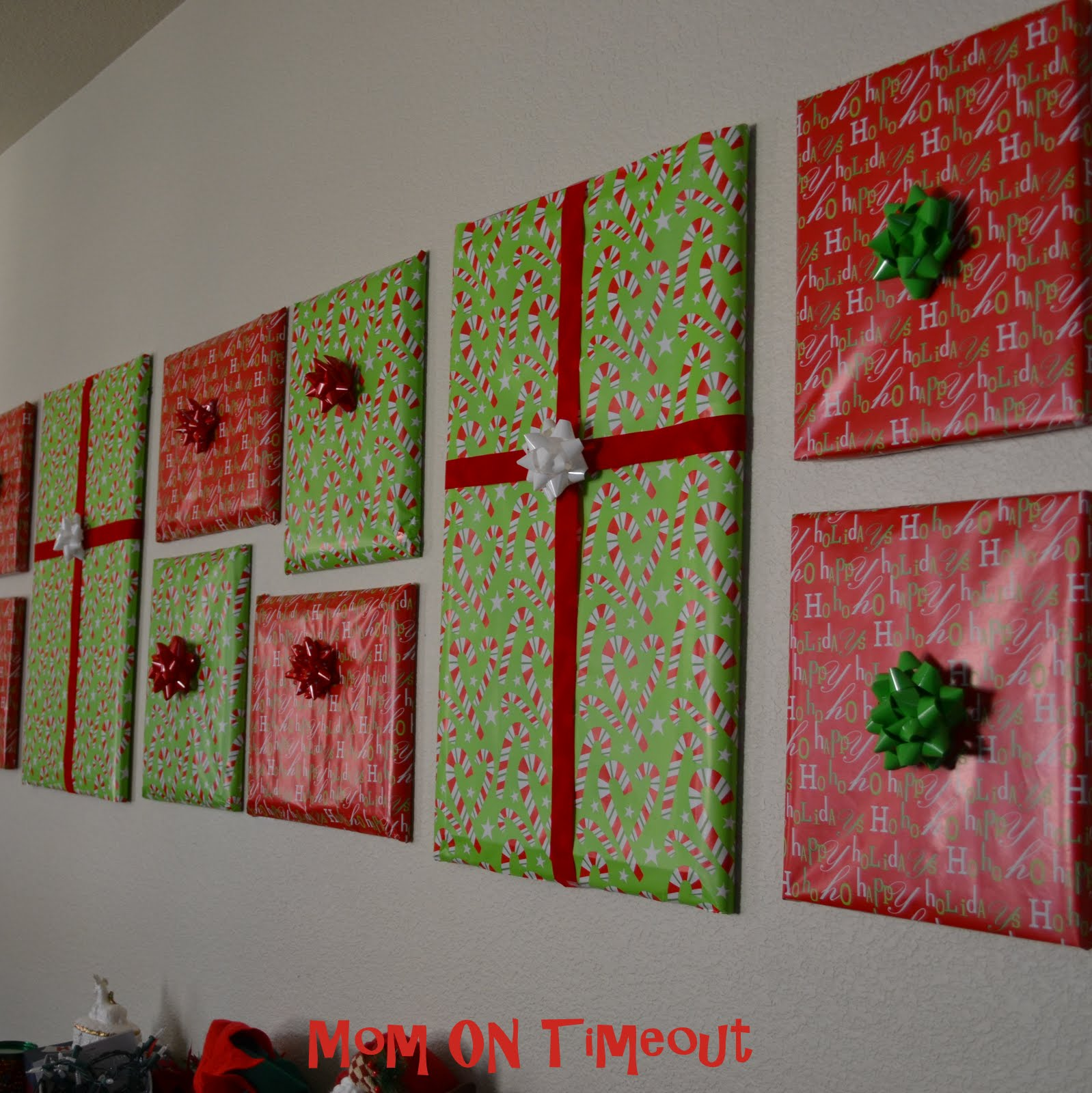 christmas decor idea gift wrapped gallery mom on timeout