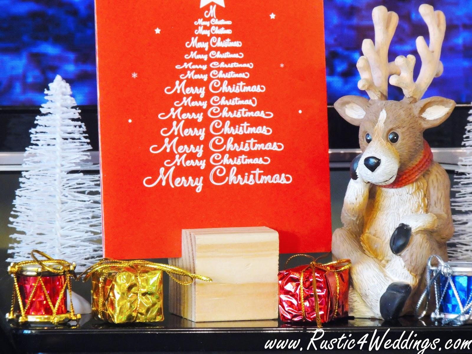 diy christmas card holder idea