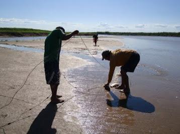 Pescando en el Bermejo