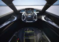 Nissan Bladeglider Concept dash