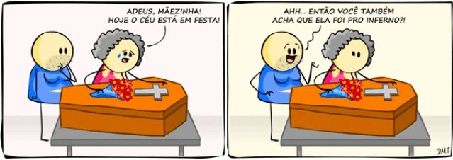 MORTE,MORTA,VELHA,CÉU,INFERNO,FESTA