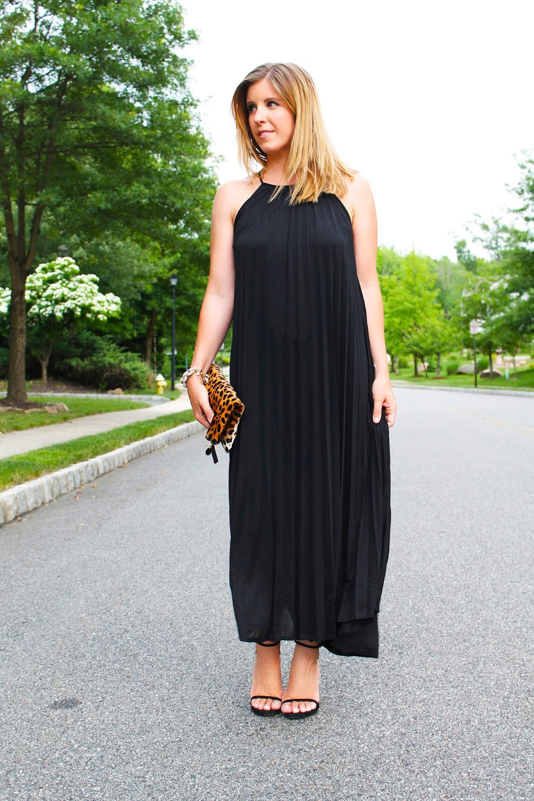 The Pleated Maxi Dress