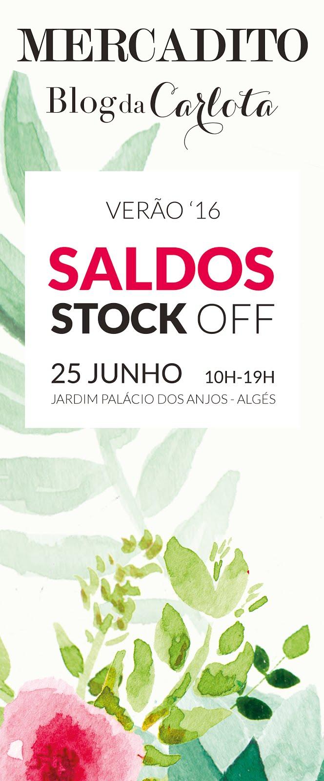 SALDOS coleção de VERÃO & STOCKOFF - 25 JUNHO