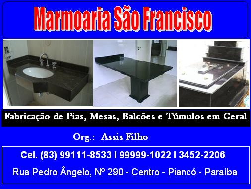 MARMOARIA SÃO FRANCISCO