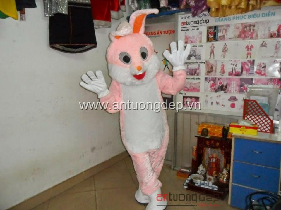 may bán thuê thú rối,mascot thỏ